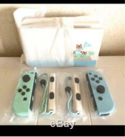 Nintendo Switch Animal Crossing Special Edition DOCK Joy-Con SET NO console c774