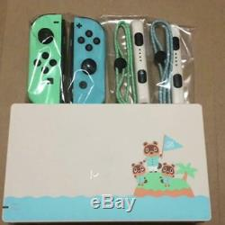 Nintendo Switch Animal Crossing Special Edition Only Joy-Con and Dock japan
