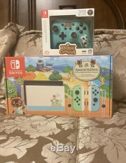 Nintendo Switch Bundle- Animal Crossing New Horizon Special Edition 32GB