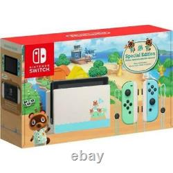Nintendo Switch Console 32GB Special Animal Crossing New Horizons Edition