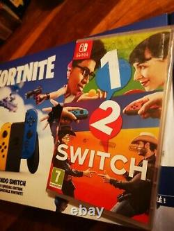 Nintendo Switch Fortnite Special Edition Console with Game + Extras (BRAND NEW)