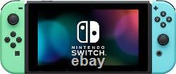 Nintendo Switch HAC-001(-01) Animal Crossing New Horizon Special Edition