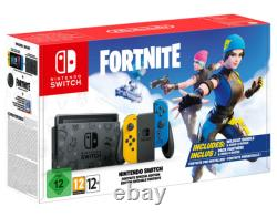 Nintendo Switch HAC-001(-01) Fortnite Special Edition 32GB Black with Yello