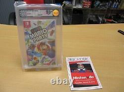 Nintendo Switch Super Mario Party Vga 95+ Mint Neu