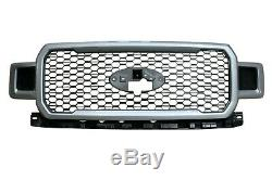 OEM Ford 18-20 F150 Lariat SPECIAL EDITION Honeycomb Grille Painted Ingot Silver