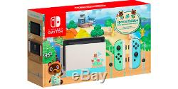 PRE-ORDER Nintendo Switch Animal Crossing New Horizons Special Edition Console
