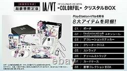 PS VITA IA/VT-COLORFUL- Crystal BOX limited edition withTracking form