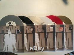 Pearl Jam Ten box set sampler promotional 7 45 set limited Rare! Colored vinyl