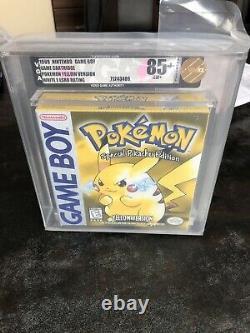 Pokémon Special Pikachu Edition NEW VGA 85+ NM WHITE E ESRB RATING GRADED