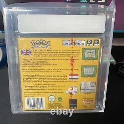 Pokémon Yellow Version Special Pikachu Edition (Nintendo, 2000) VGA 90 UK PAL