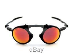 RARE POLARIZED New OAKLEY MADMAN Ruby Iridium Carbon Sunglasses OO 6019-04