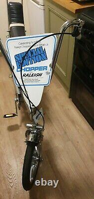 Raleigh Chopper Rare Mk2 Se Special Edition Known As Silver Jubilee 1977