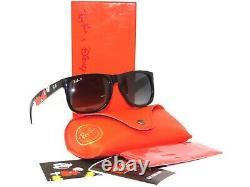 Ray Ban Justin 4165 6501T3 Polarized Mickey Special Disney Edition Sunglasses