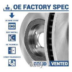 Rear Rotors Ceramic Pads For Escalade Silverado Suburban Tahoe Sierra Yukon
