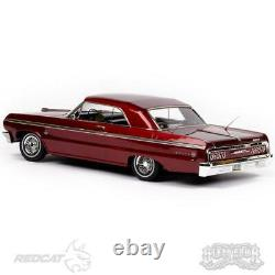 Redcat RER13525 SixtyFour 1964 Chevrolet Impala SS Hopping Lowrider RTR Red Car