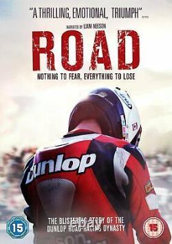 Road 2014 (DVD) Liam Neeson, Joey Dunlop, William Dunlop, Michael Dunlop
