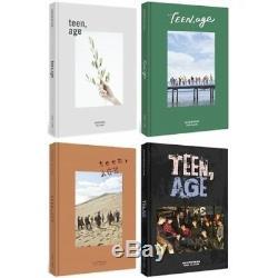 SEVENTEEN TEEN, AGE Random ver CD+Book+Seventeen POSTER+Card+Stand+Sticker+Gift