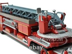 San Francisco Fire Truck 4 Alf 900 Series Open Top 1/64 Diecast By Code 3 13055