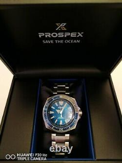 Seiko Prospex Samurai Save The Ocean. Special Edition. RRP £499
