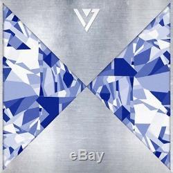 Seventeen-17 Carat1st Mini Album CD+Folding Lyrics Poster/On+13p PostCard+Gift