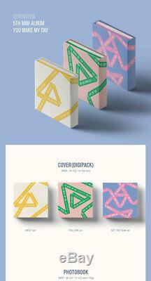 Seventeen-You Make My Day Mini Album Follow Ver CD+7Teen Poster+Book+etc+Gift
