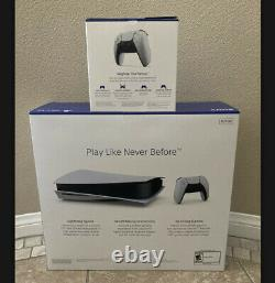 Sony PlayStation 5 PS5 Console DISC VERSION Extra Controller BUNDLE OVERNIGHT