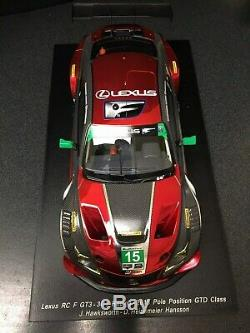 Spark 2018 Lexus Racing RCF GT3 1/18 Scale RED New RARE car# 15