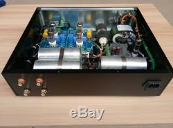 Special extreme version oil-immersed capacitor 12AX7 +12AT7 tube preamp L13-3