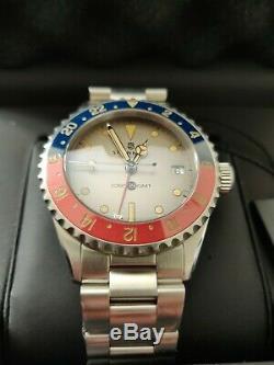 Steinhart Ocean 39 vintage GMT Premium Ceramik Special Edition. Brand New