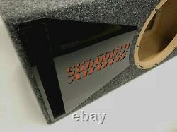 Sundown Audio SA-12V2 ported subwoofer box SPECIAL EDITION black plexi port trim