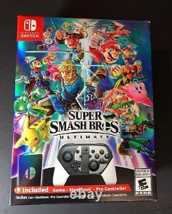 Super Smash Bros Ultimate Limited Special Edition Box (Nintendo Switch) NEW