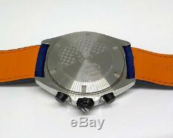 Tag Heuer Formula 1 Gulf Special Edition Chronograph Watch 43mm Caz101n. Fc8243