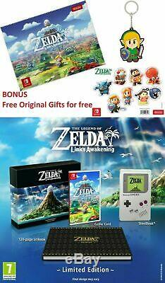 The Legend of Zelda Link's Awakening Limited Edition Nintendo Switch LAST PIECE