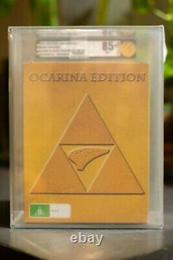 The Legend of Zelda Ocarina of Time 3D 3DS VGA 85+ special edition