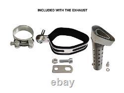 Titanium Exhaust Slip On 51mm 2 GRmoto