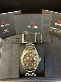 Tudor Black Bay Harrods Special Edition 79230G Box and Papers 2020 Unworn