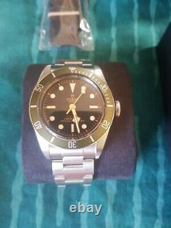 Tudor Heritage Black Bay Harrods Green Special Edition NEW 2020 BOX & PAPERS