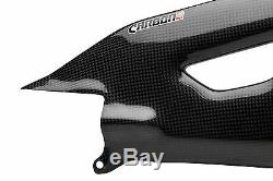 YAMAHA YZF-R1 2015-2019 Carbon Fiber Swingarm Covers Panels Protectors Guards