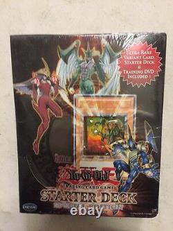Yugioh Elemental Heros Special Edition Theme Deck With DVD And Sparkman Variant