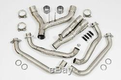 Z1000 SX 10-20 4-2 Exhaust Collector De-cat Header Down Front pipes Race Upgrade